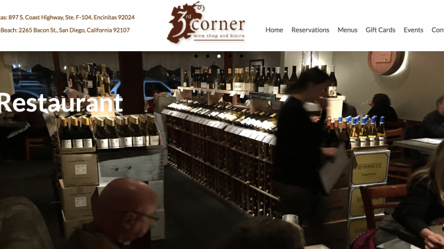 The 3rd Corner Wine Shop & Bistro Happy Hour